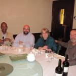 Rodney from DC Cuban Interest Section, Masen Davis (TGLC), Lin & Ron at Chinese Dinner