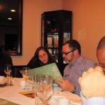 Dan & Mariela at Chinese dinner