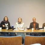 Mariela, translator, Alberto& Jamison at UCSF Event